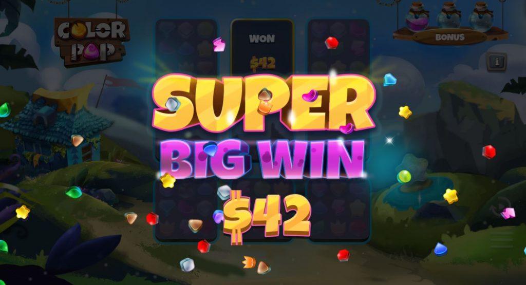 Capture super big win