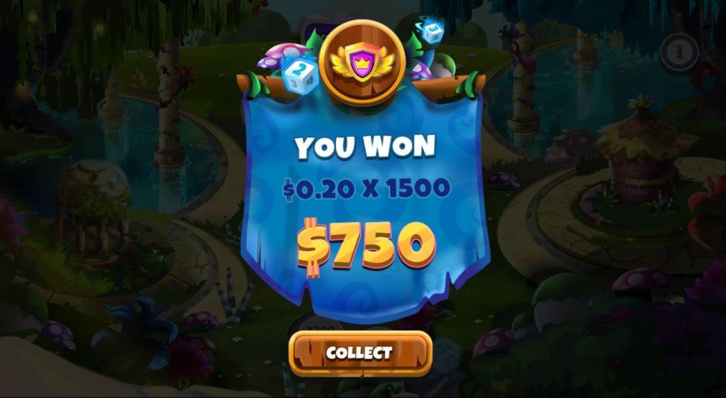 Capture you won bonus