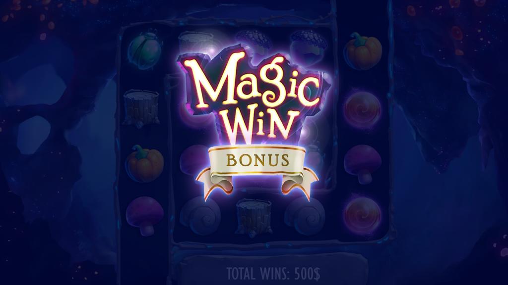 Enchanted Winnings capture bonus win