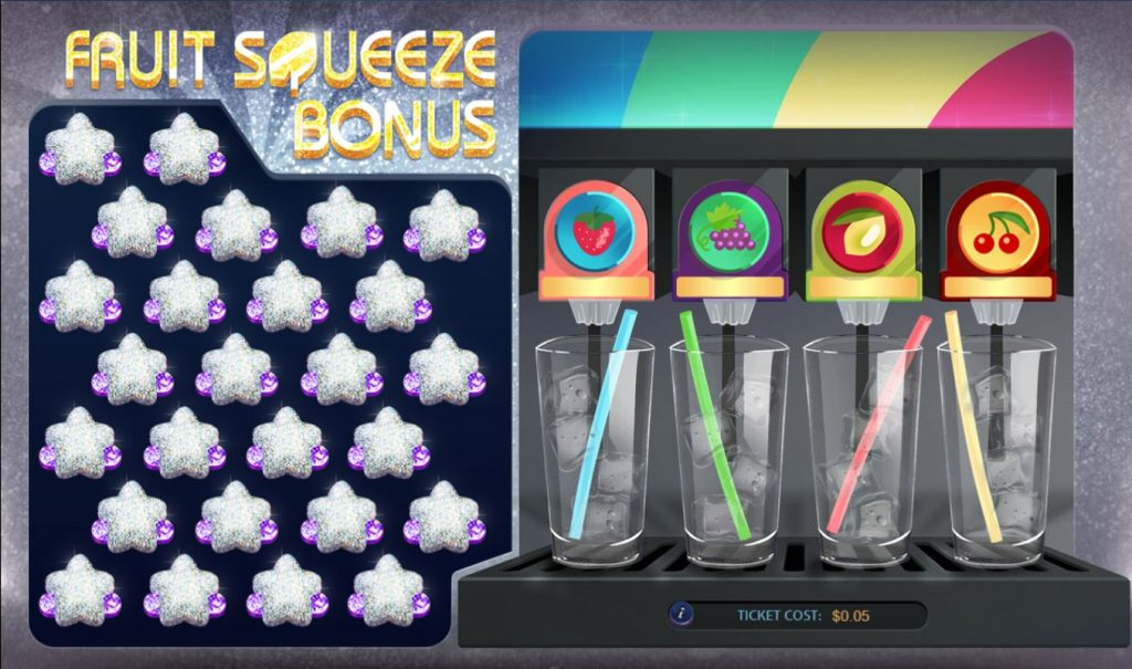 Fruity Cubes Capture bonus