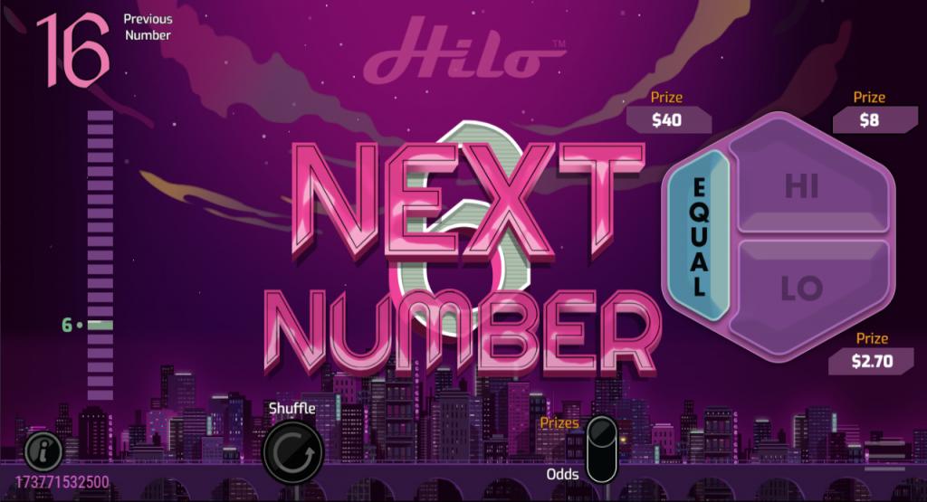 Hi Lo nextnumber_screen