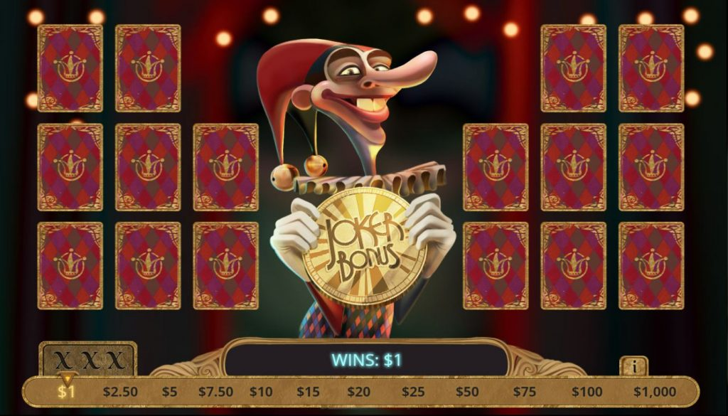 Queen of Diamonds Capture jocker bonus