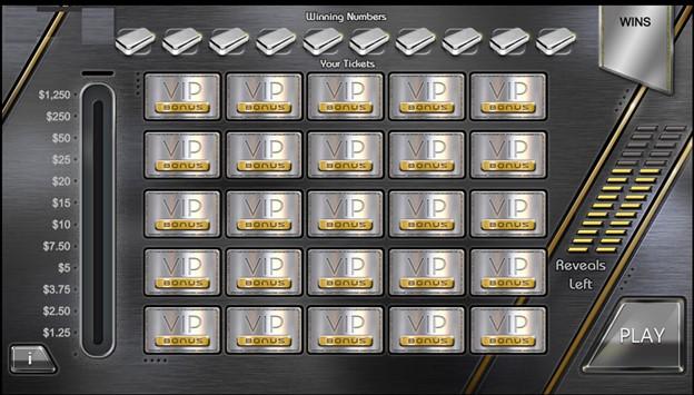 VIP Platinum covered bonus round