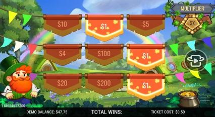 Shamrock_Winnings Win_$1 Multiplier_x5
