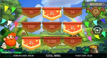 Shamrock_Winnings Win_$1