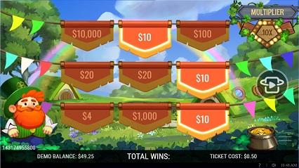 Shamrock_Winnings Win_$10 Multiplier_x10