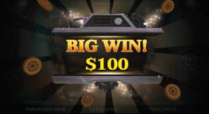 Steampunk_Treasures Big_Win_$100 Pop_up resized
