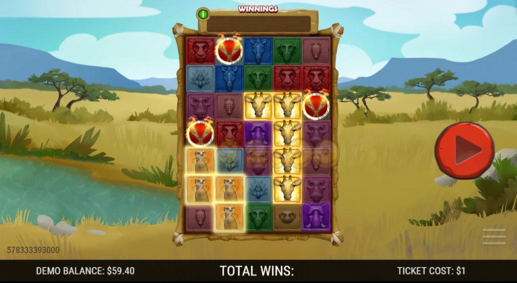 Savanna_Adventures-Winning_Ticket+3_Torches
