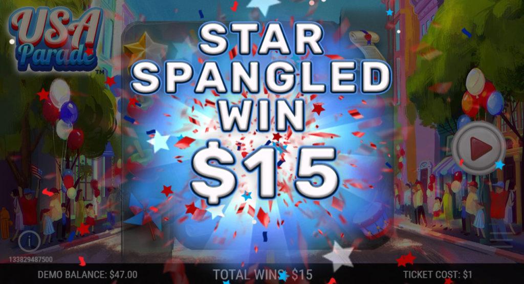 USA-Parade-Winning-Ticket-Regular-Win-Star-Spangled-Win-Animation-$15